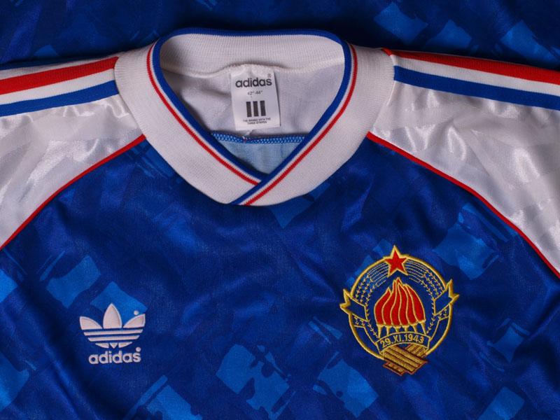4f0fce8d2c1 1991-92 Yugoslavia Home Shirt L for sale