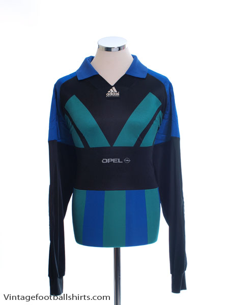 1991-93 adidas Goalkeeper Shirt L