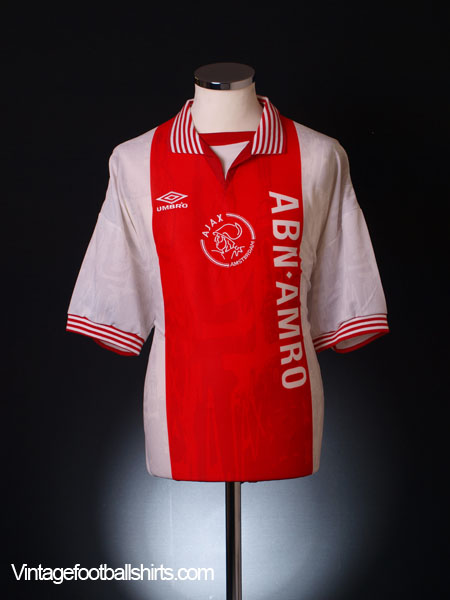 1995-96 Ajax Home Shirt *BNWT* XL