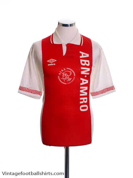 1991-93 Ajax Home Shirt *Mint* M