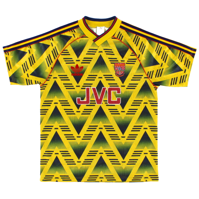 1991-93 Arsenal adidas Away Shirt *Mint* M - 301276