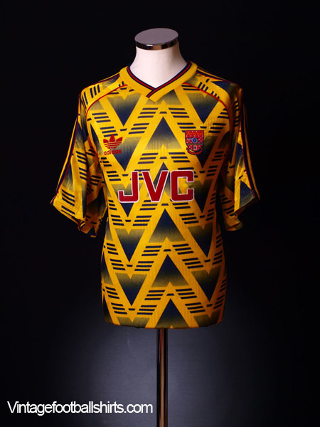1991-93 Arsenal Away Shirt *BNIB* XL