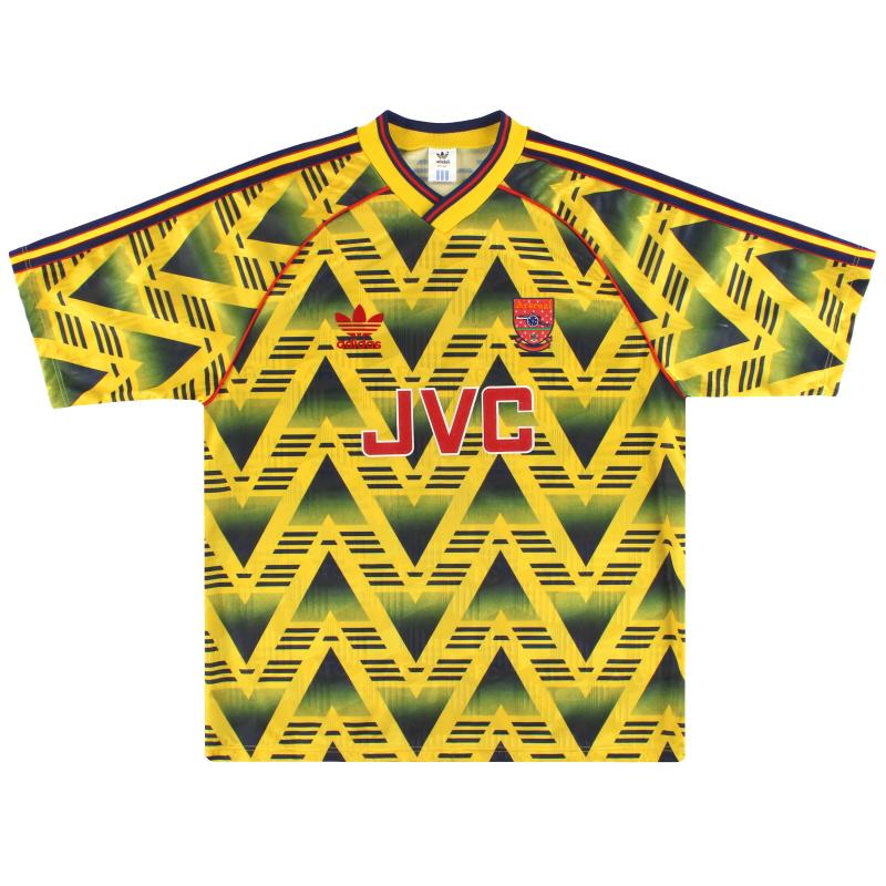 1991-93 Arsenal Away Shirt M - 301276