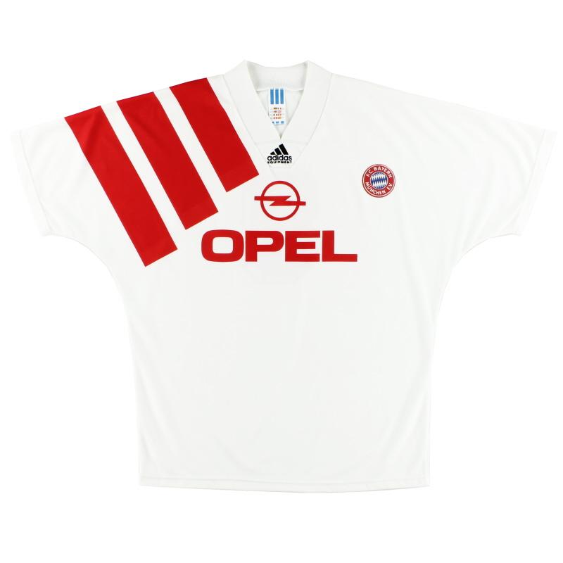 1991-93 Bayern Munich Away Shirt #9 XL