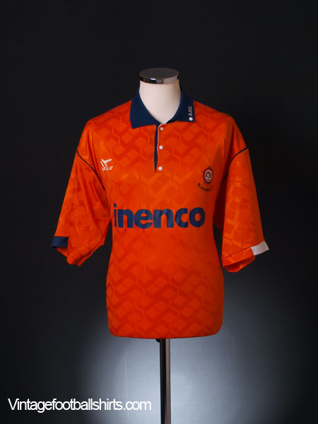 1991-93 Blackpool Home Shirt L