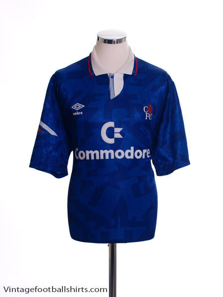 1991-93 Chelsea Home Shirt XL