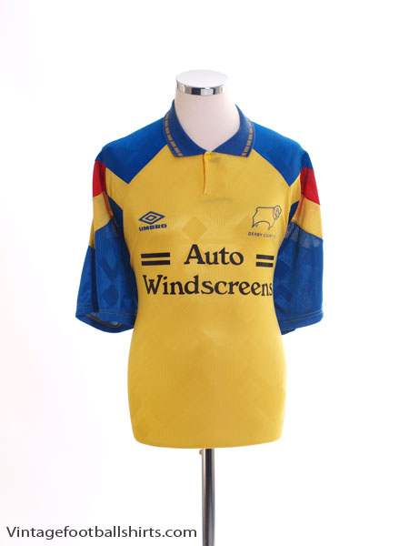 1991-93 Derby County Third Shirt XL
