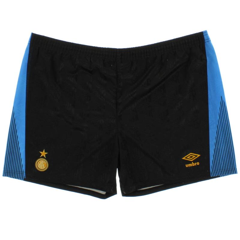 1991-93 Inter Milan Home Shorts XXL