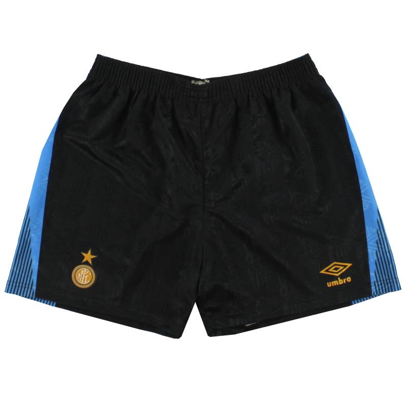 1991-93 Inter Milan Umbro Home Shorts L