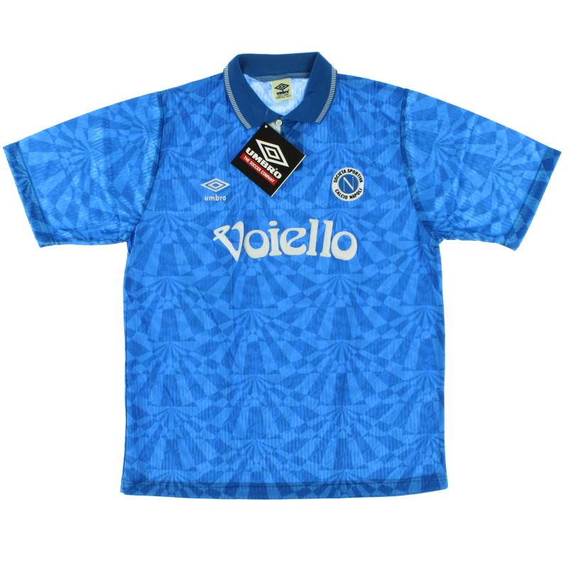 1991-93 Napoli Home Shirt *BNIB*
