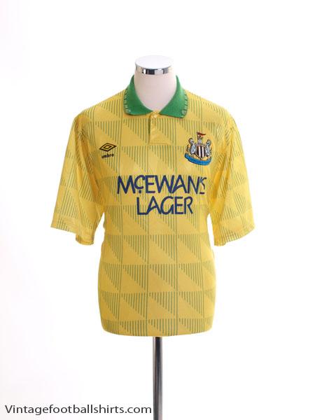 1991-93 Newcastle Away Shirt XL
