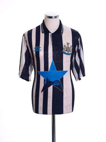 1991-93 Newcastle Home Shirt XL