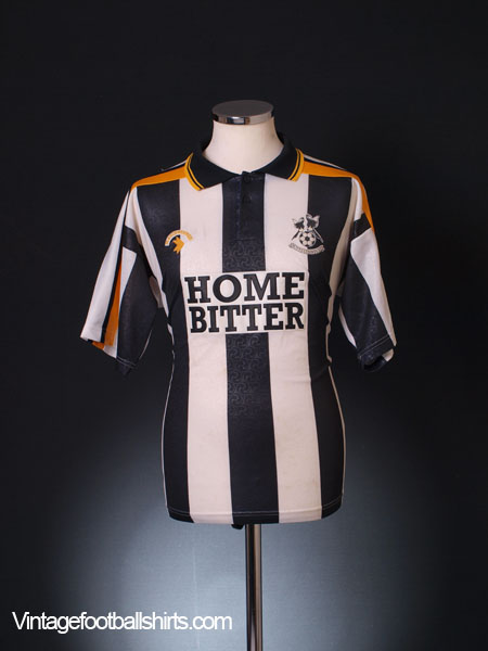 1991-93 Notts County Home Shirt M