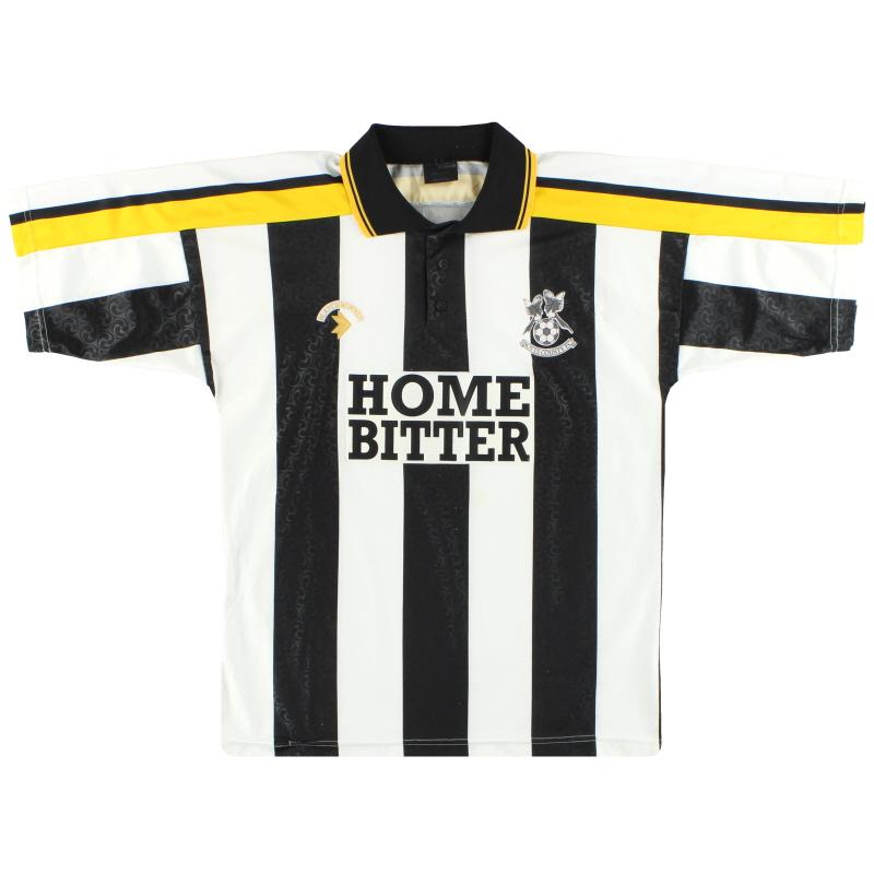 1991-93 Notts County Matchwinner Home Shirt M