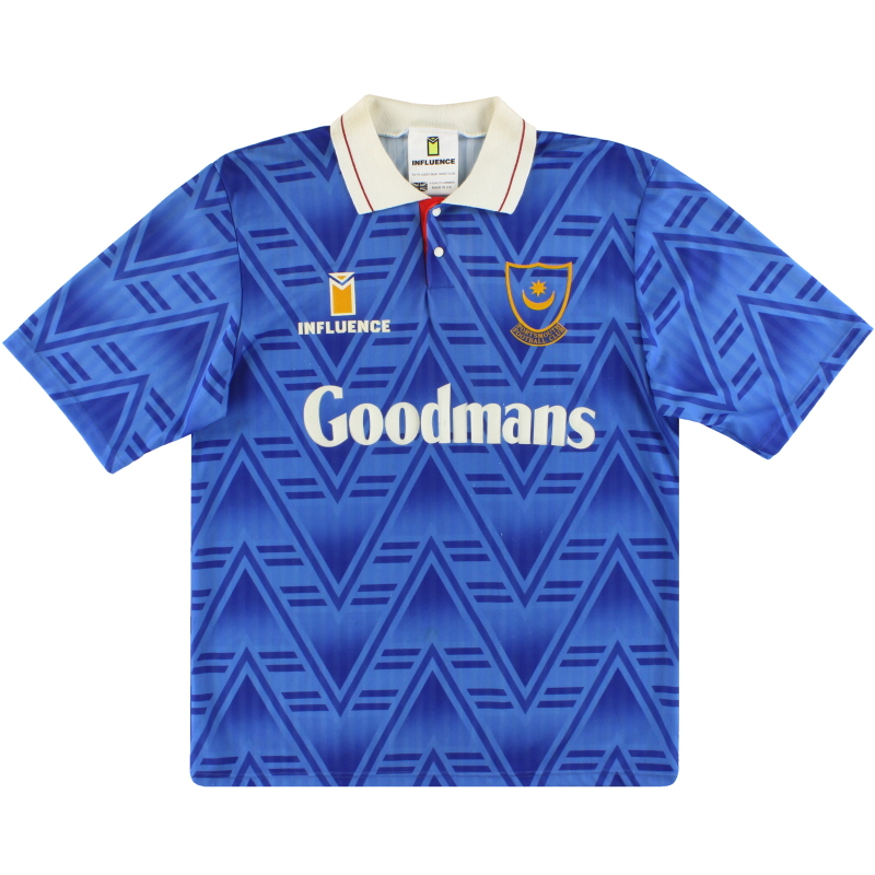 1991-93 Portsmouth Home Shirt M