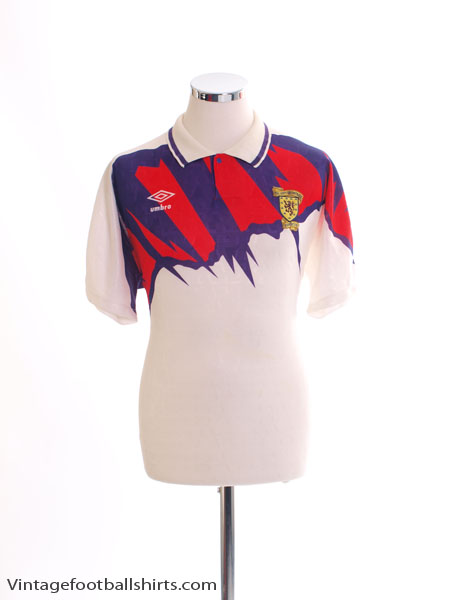 1991-93 Scotland Away Shirt *BNIB* XL