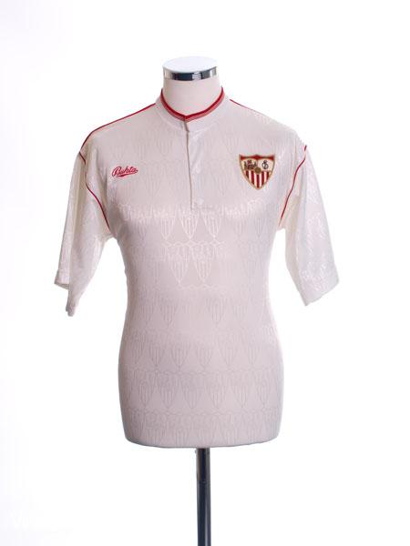 1991-93 Sevilla Home Shirt M