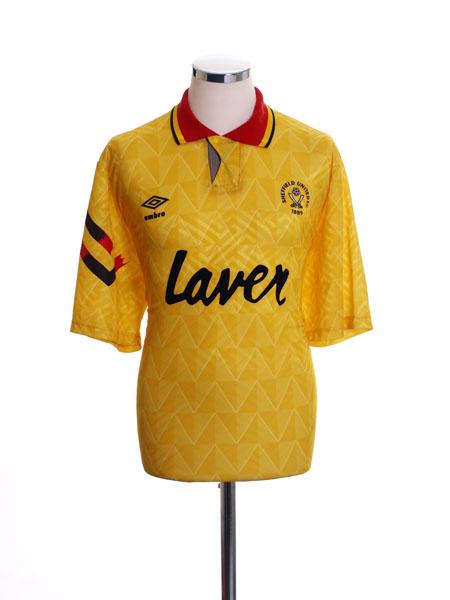1991-93 Sheffield United Away Shirt XL
