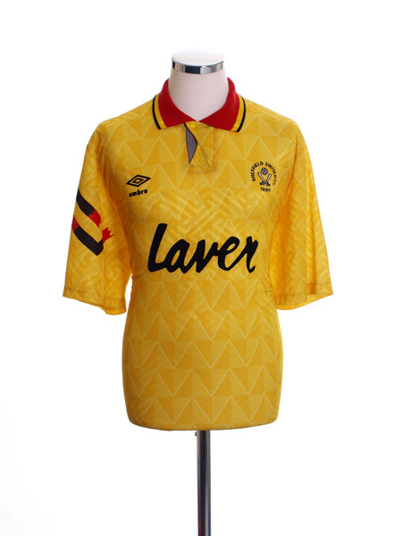 1991-93 Sheffield United Away Shirt XL