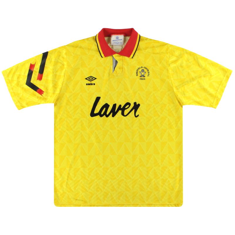 1991-93 Sheffield United Umbro Away Shirt XL