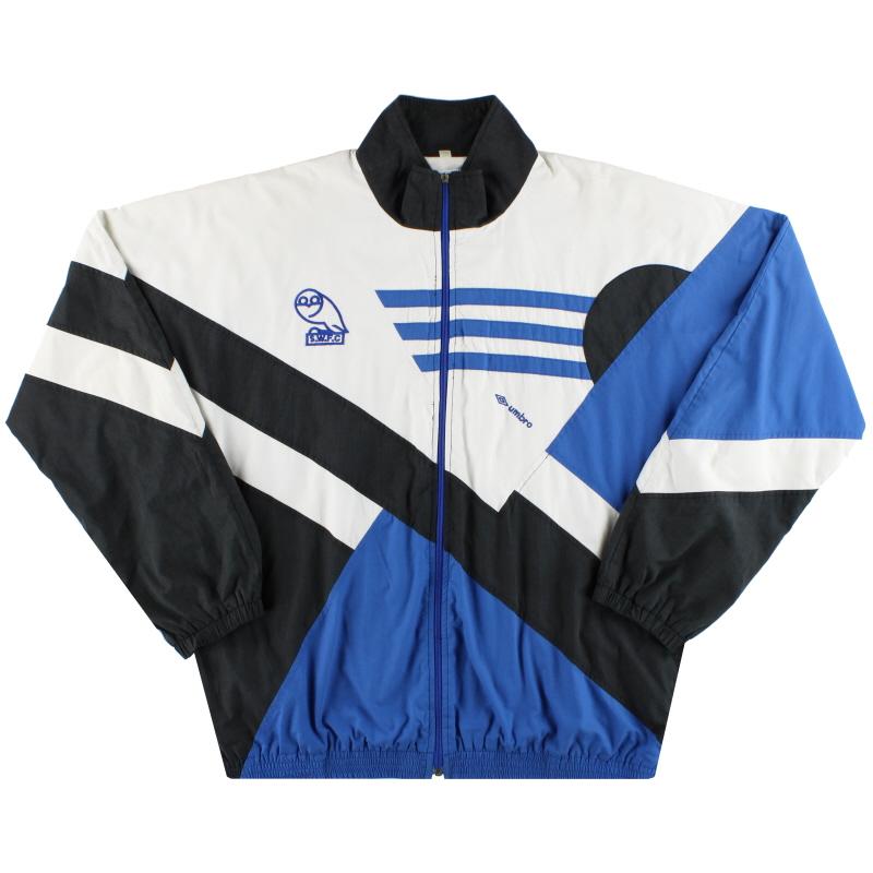 1991-93 Sheffield Wednesday Umbro Track Jacket XL