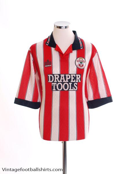 1991-93 Southampton Home Shirt L