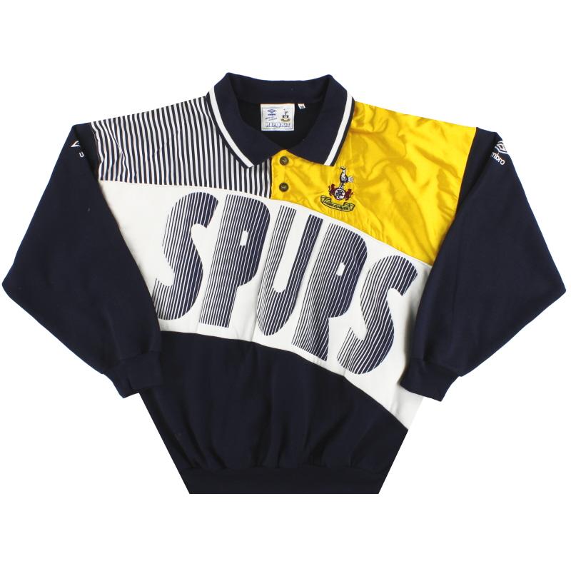 1991-93 Tottenham Umbro Sweatshirt *Mint* M