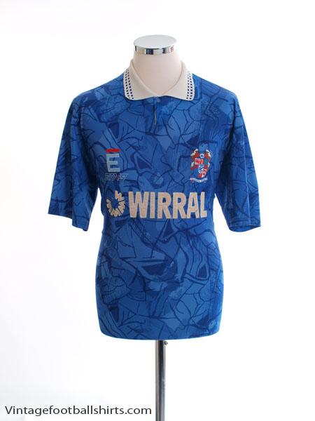 1991-93 Tranmere Rovers Away Shirt L