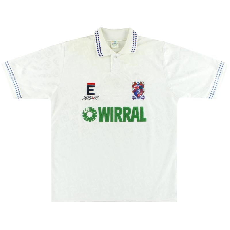 1991-93 Tranmere Rovers Home Shirt L