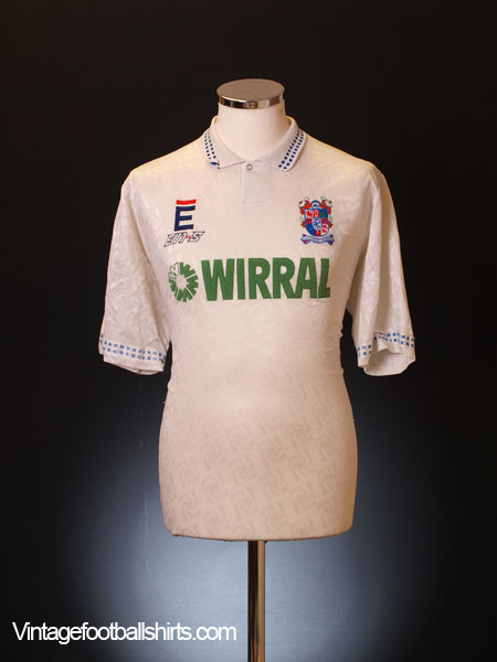 1991-93 Tranmere Rovers Home Shirt XL
