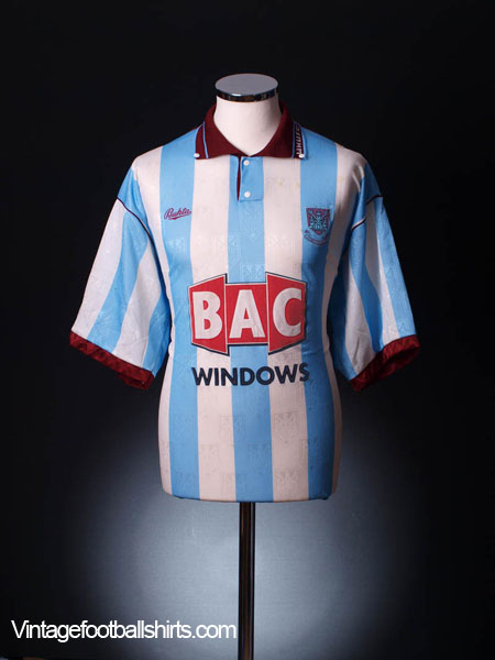 1991-92 West Ham Away Shirt S