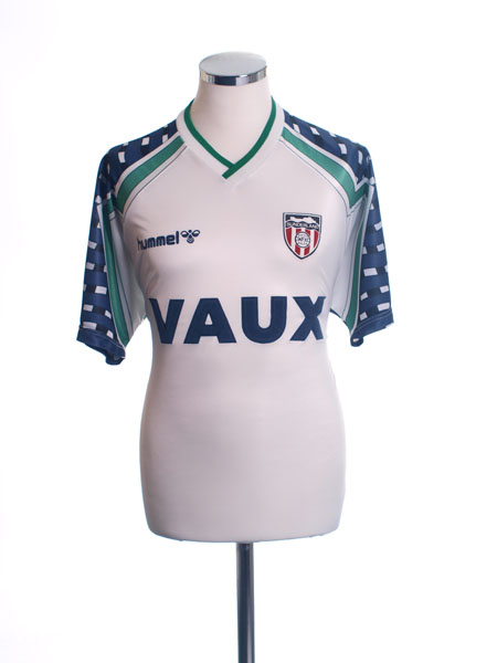 1991-94 Sunderland Away Shirt XL