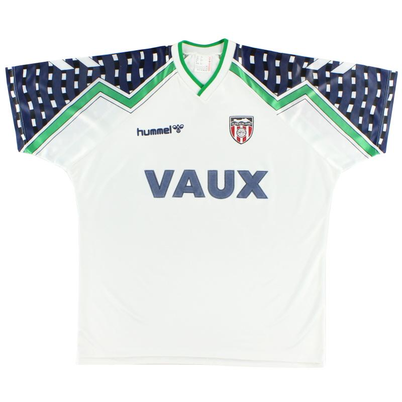 1991-94 Sunderland Away Shirt XL