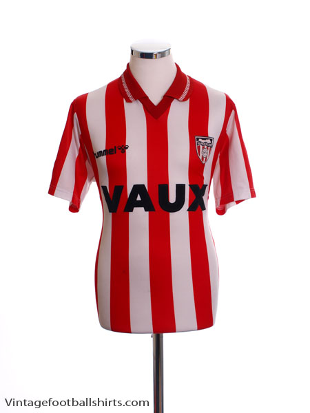 1991-94 Sunderland Home Shirt M