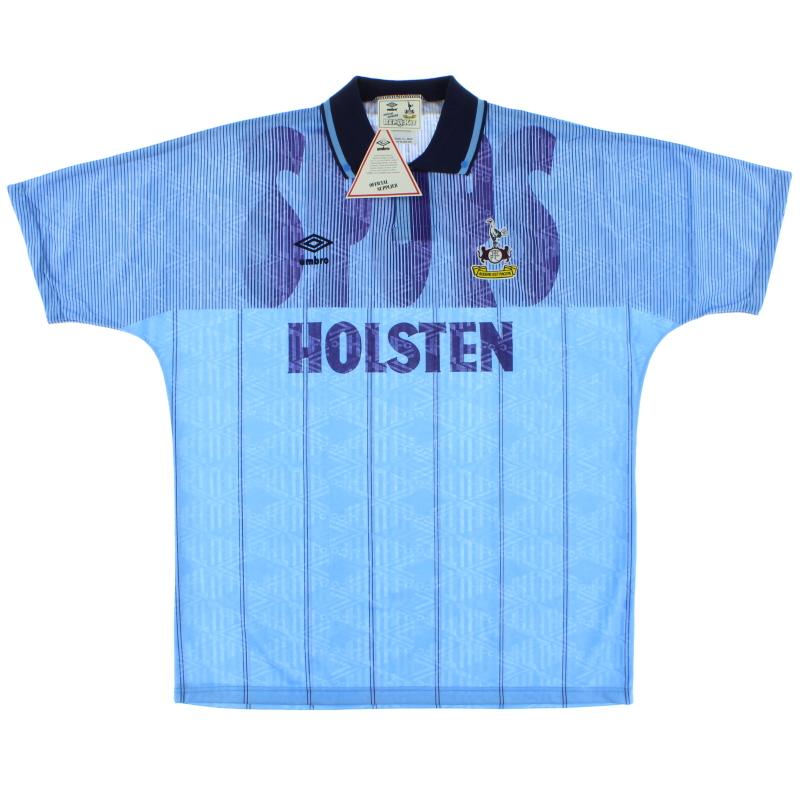 1991-94 Tottenham Third Shirt *BNIB* L