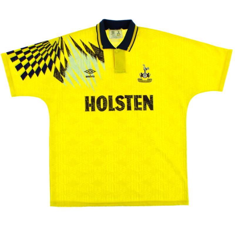 1991-95 Tottenham Away Shirt XL