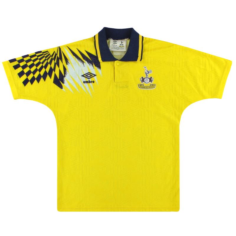 1991-95 Tottenham Umbro Away Shirt Y