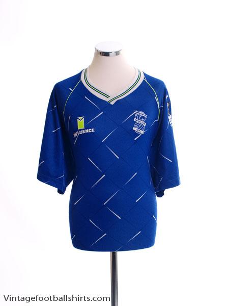 1991 Birmingham 'Leyland DAF Cup Final' Home Shirt XL
