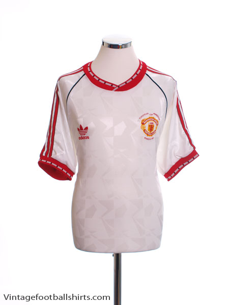 1991 Manchester United European Cup Winners Cup Shirt L