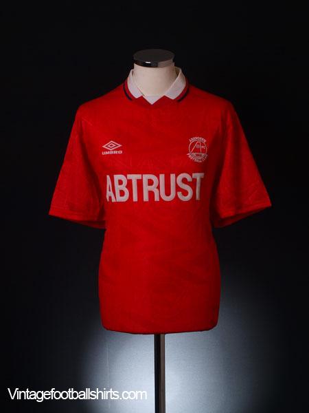 1992-93 Aberdeen Home Shirt *BNIB* L