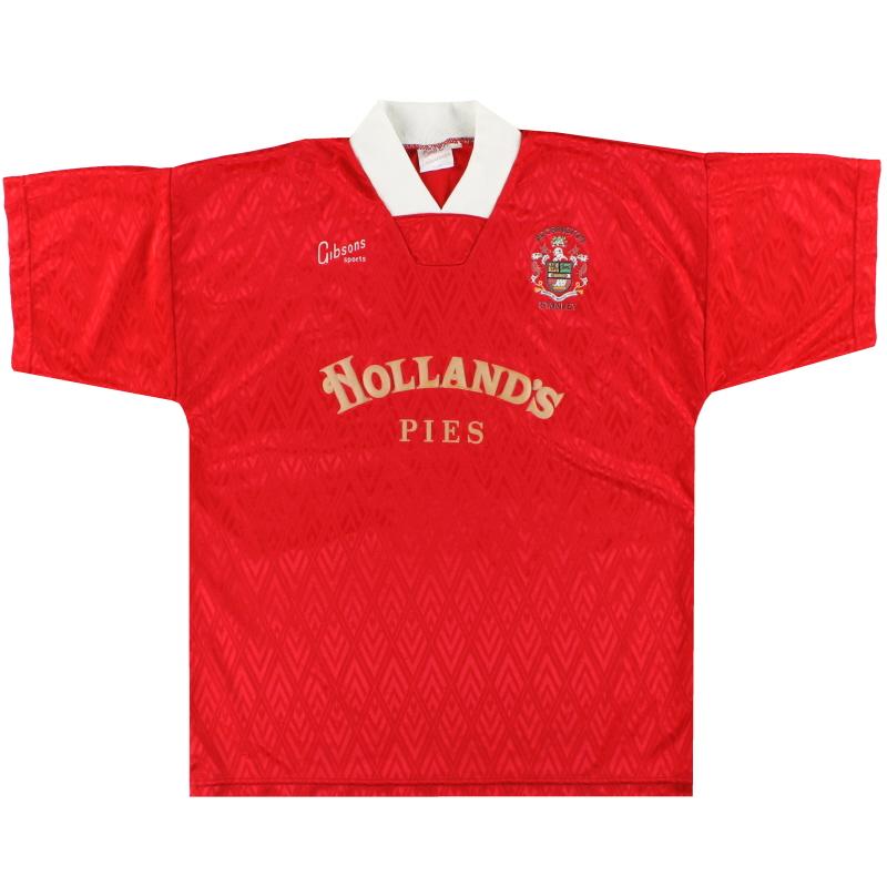 1992-93 Accrington Stanley Home Shirt L