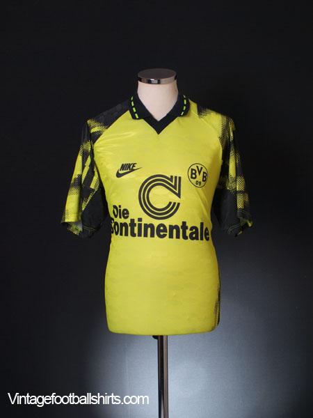 1992-93 Borussia Dortmund Home Shirt L