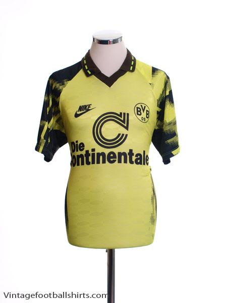 1992-93 Borussia Dortmund Home Shirt M