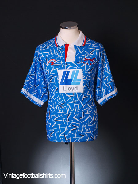 1992-93 Carlisle Home Shirt *Mint* L