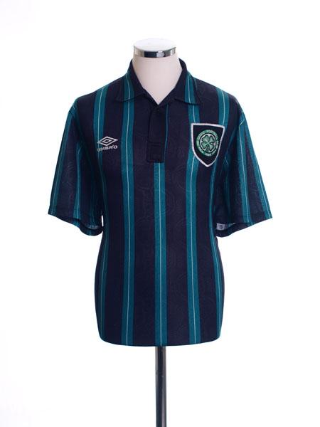 1992-93 Celtic Away Shirt *Mint* M
