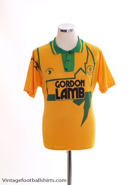 1992-93 Chesterfield Away Shirt S