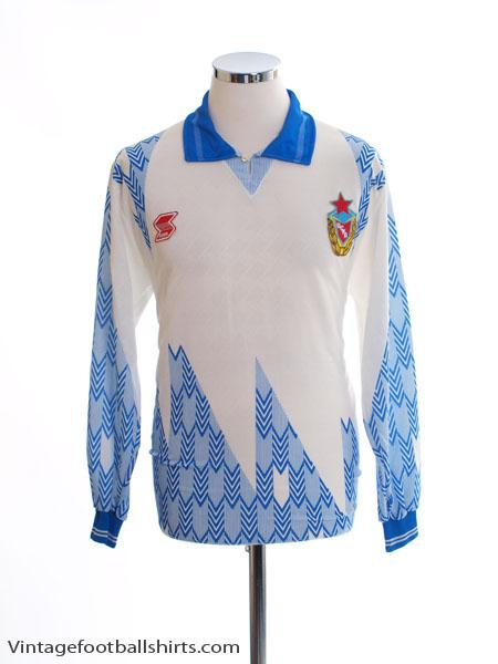 1992-93 CSKA Moscow Away Shirt L/S *Mint* M