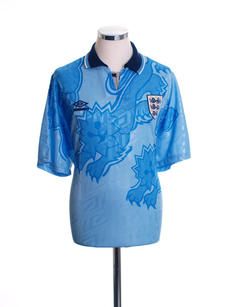 1992-93 England Third Shirt L