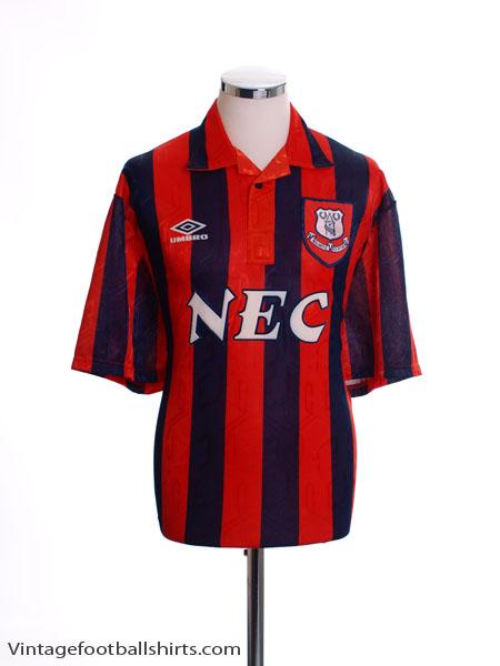 1992-93 Everton Away Shirt M