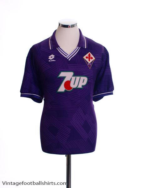 1992-93 Fiorentina Home Shirt XL